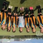 LIONESSES AND TIGERS RULE  GIRLS FOOTBALL